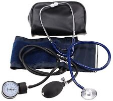 LotFancy Manual Blood Pressure Cuff, Aneroid Sphygmomanometer and Stethoscope