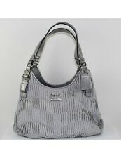COACH Madison Gathered Signature Maggie Bag 18886