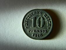 GERMANY SUPER RARE 10 PFG 1918 IRON COIN FREE FAST SHIPPING!!!  L@@K!!!!!