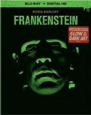 FRANKENSTEIN New Blu-ray 1931 Limited Edition Glow in the Dark Art Slipcover