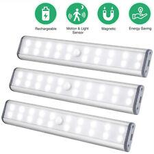 40CM 60 LEDs Closet Light Rechargeable Motion Sensor Under Cabinet Night Lights