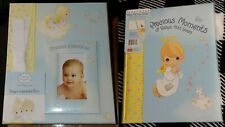 New listing New Baby's Keepsake Box & Fill-In Memory Book Precious Moments Baby Shower Gift