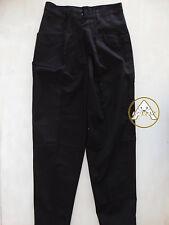 Vintage 80 SPITFIRE 29 S Pantaloni Pants Nero 70 Trousers Leggeri Donna