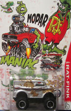 Hot Wheels CUSTOM MONSTER DAIRY DELIVERY  Mopar Rat Fink Real Riders Limited!
