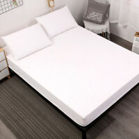 Cotton Waterproof Mattress Cover Soft Bed Bedding Sheet Cover Protector Healthy