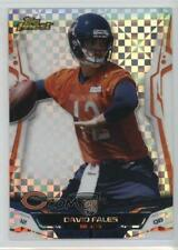 2014 Topps Finest X-Fractor David Fales #120 Rookie