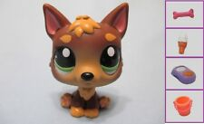 Littlest Pet Shop Dog Baby German Shepherd 2137 Free Accessory Lps Exclusive