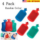 4x Rubber Heat Water Bag Hot Cold Warmer Relaxing Bottle Therapy Winter Thick