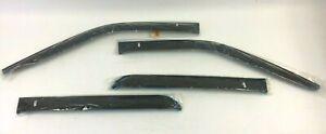 15-20 Ford F150 17-20 F250 F350 Crew Cab 4pc Smoke Window Deflectors new OEM