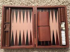 Backgammon Travel Case, 9x7x2