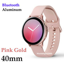 New Samsung Galaxy Watch Active2 SM-R820 Aluminum 40mm - Color:Pink - Bluetooth
