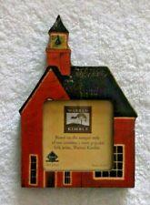 Warren Kimble Photo Frame - 'Baker Schoolhouse' - 3x3 Photo - Fetco - Pre-owned