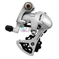 Sunrace RDR81 Alloy MTB Bike Rear Derailleur 8 Speed SILVER Short Cage 11-28T