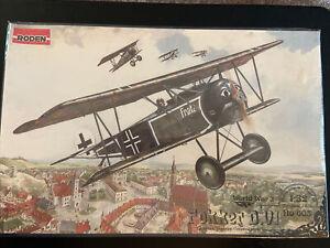Roden 1/32 Fokker D VI WWI German BiPlane Fighter/Interceptor  ROD603