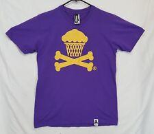Johnny Cupcakes Basketball Crossbones T Shirt Sz Medium M