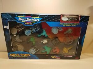 Star Trek Micro Machines Limited Edition Collector's Set 16 Vessels Galoob 1993