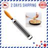 Citrus Zester & Cheese Grater Parmesan Cheese Razor-Sharp Stainless Steel Blade