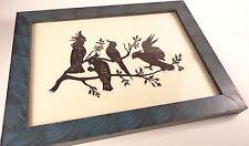 Original Paper Cut Birds on a Branch Pennsylvania Guild of Craftsmen Artist