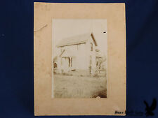 Antique Photo House Family Portrait Barn Children Rocking Horse Well Pump