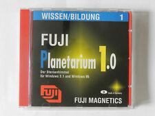 PC CD-ROM Fuji Planetarium 1.0 Der Sternenhimmel für Windows 3.1 Windows 95