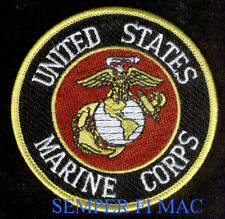 US MARINES AUTHENTIC EAGLE GLOBE ANCHOR SEAL LOGO PATCH EGA PIN UP MCAS MCB MCRD