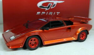 GT Spirit 1/18 Scale Resin - GT134 - Lamborghini Countach Koenig Turbo Red
