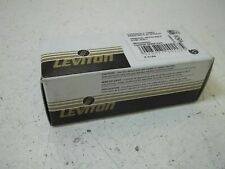 LEVITON 1222-2L ISOLATED GROUND DUPLEX RECEPTACLE *NEW IN BOX*
