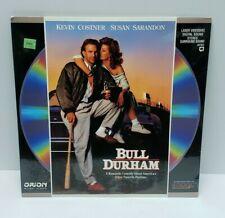 Bull Durham LASERDISC (1989, ID6312OR) Kevin Costner, Susan Sarandon SEALED