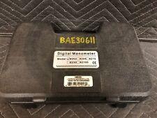 GENERAL DM8252 High Resolution Digital Manometer Used Untested