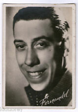 PHOTO 45 FERNANDEL ACTEUR FRANCE FILM CINEMA STAR HUMOUR DROLERIE STUDIO ARNAL