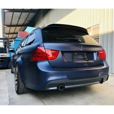 Flat Black 284 PDL Rear Trunk Lip Spoiler Wing For 04~13 BMW 3-Series E91 Wagon