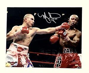 Miguel Cotto vs. Judah Boxing Signed 16x20 Photo Autographed Auto Steiner COA