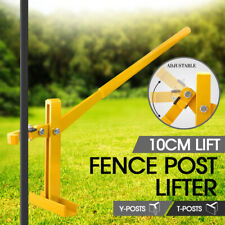 AU Seller Fence Post Lifter Puller Remover Star Picket Fencing Steel Pole Tool