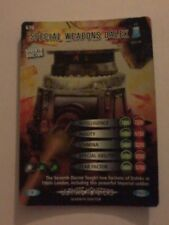 Rare Dr who battles in time card special weapons dalek 676