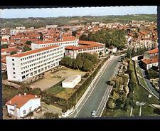 SAINT-GAUDENS (31) LYCEE de JEUNES FILLES & VILLAS en vue aérienne en 1968