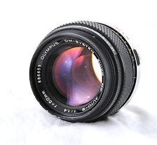 Olympus 50 mm F1.4 OM-FAST Lente.