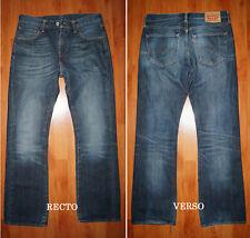 """JEANS LEVIS 527 """"Low-bootcut"""" W32 L32 (FR t42) bleu brut délavé"""