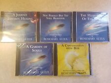 Set of 5 Rosemary Altea CDs, Guided Meditations, Conversation with Bob