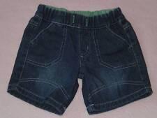 Target Baby Cute Little Boys Denim Shorts, Size 0-3 Months