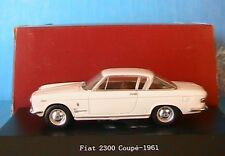 FIAT 2300 COUPE 1961 WHITE STARLINE 1/43 BIANCA WHITE