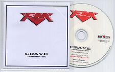 FM Crave New Recording 2013 UK 1-trk promo test CD edit version