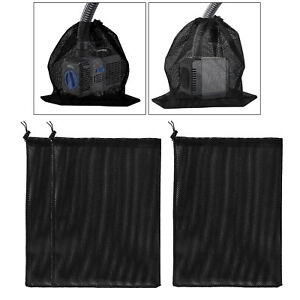 Pump Barrier Bag Mesh Filter Bag Accessories Submersible Boat Marine Outdoor