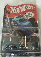 HOT WHEELS Custom '38 Ford COE 2016 Collector Edition Kmart Mail In Blue