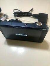 Navy Blue Samsung Galaxy Camera / Android OS GC120 16.0 MP 21x 23mm