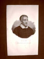 Guido Reni Bologna 4 novembre 1575 – 18 agosto 1642 Pittore Acquaforte 1849