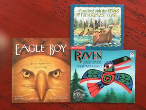 Pacific Northwest Native American Children's Books | Lot of 3