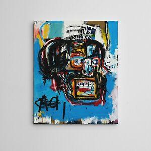 "16X20"" Gallery Art Canvas: Jean-Michel Basquiat SAMO Graffiti Neo-expressionism"