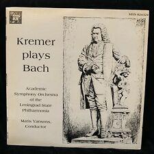 GIDON KREMER violin - BACH Concerto, Sonata & Partitas - MHS  ST 2LP