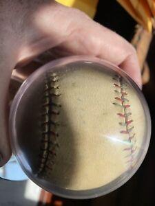AUTHENTIC Babe Ruth Single Signed Baseball National Practice JSA Full Letter