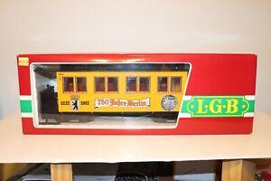 LGB G Scale 750 Jahre/Year Berlin Anniversary Passenger Coach #3060B